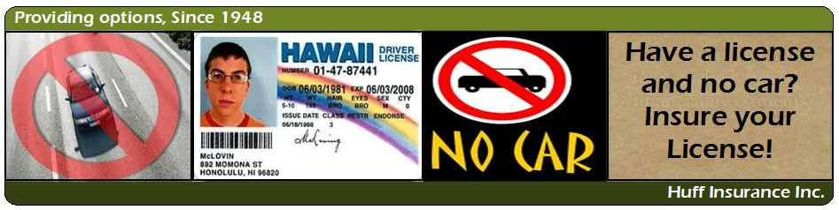drivers license insurance
